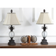 Pineapple Shaped Glass Table Lamp (Set of 2)