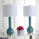 Luz Long Neck Ceramic Table Lamp (Set of 2)