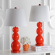 Cassie Three Sphere Glass Table Lamp (Set of 2)