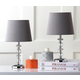 Stacked Crystal Orb Lamp (Set of 2)