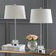 Crystal Base Table Lamp (Set of 2)