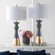 Ceramic Two Toned Table Lamp (Set of 2)
