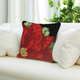 Decorative Liora Manne Holiday Bloom Indoor/Outdoor Pillow 18