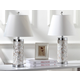 Cylinder Crystal Ball Table Lamp (Set of 2)