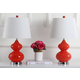 York Double Gourd Table Lamp (Set of 2)
