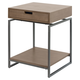 Floating Top End Table with Drawer