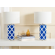 Garden Lattice Table Lamp (Set of 2)