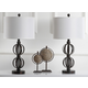 Sphere Shaped Calista Table Lamp (Set of 2)