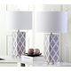 Garden Lattice Table Lamp (Set of 2)