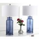 Cylinder Bottle Glass Table Lamp (Set of 2)