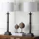 Metal Column Table Lamp (Set of 2)