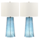Glass Yantley Table Lamp (Set of 2)