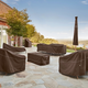 Outdoor Large Rectangular/Oval Patio Table Furniture Cover