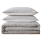 Cotton Brooklyn Loom Matelasse Full/Queen Duvet Cover Set