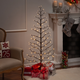 Decorative 5' 2D Tree with White LED Lights
