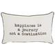 Decorative Happiness Journey Trendy Pillow