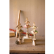 Decorative Metal Angels with Wood Base (Set of 3)