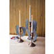 Decorative Angel Wing Candle Holders (Set of 3)