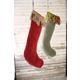 Decorative Christmas Stockings (Set of 2)