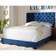 Velvet Queen Upholstered Bed