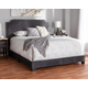 Velvet Full Upholstered Bed