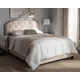 Button Tufted Queen Upholstered Bed