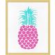 Giclee Perky Pineapple Wall Art