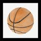 Giclee Basketball Wall Art