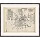 Giclee Houston Map Wall Art