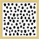 Giclee Black Dots Wall Art