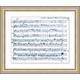Giclee Sheet Music Wall Art