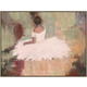 Giclee Seated Ballerina Wall Art