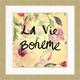 Giclee La Vie Boheme Wall Art