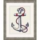 Giclee Nautical Anchor Wall Art