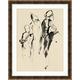Giclee Abstract Figures 1 Wall Art