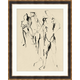 Giclee Abstract Figures 2 Wall Art