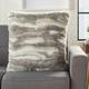 Modern Faux Angora Rabbit Fur Pillow