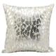 Modern Metallic Leopard Pillow