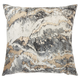 Modern Metallic Marble Pillow