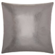 Modern Metallic Leather Couture Pillow