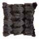 Modern Fox Fur Couture Pillow
