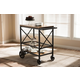 Rolling Mobile Serving Cart