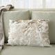 Modern Faux Fur Sequin Pillow