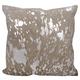 Modern Metallic Splash Couture Pillow
