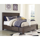 Dellbeck Queen Panel Bed with Storage