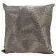 Modern Fan Design Luminescence Pewter Pillow