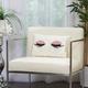 Modern Glitter Eye Shadow Luminescence Rose Pillow