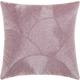 Modern Fan Design Luminescence Lavender Pillow