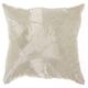 Modern Fan Design Luminescence Silver Pillow