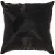 Modern Fan Design Luminescence Black Pillow
